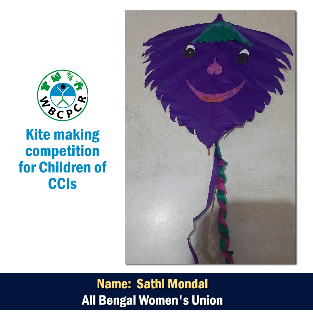 Kite making competition for Children of CCIs